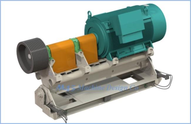 Self Tensioning Crusher Drive 500kw M45 Machine Design